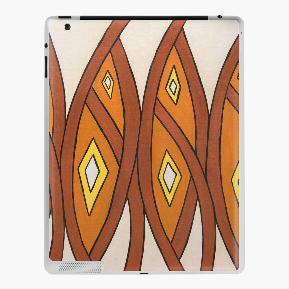 Crocodile Totem Design iPad Case & Skin