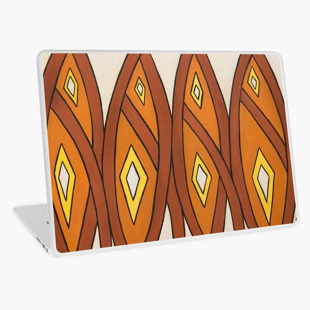 Crocodile Totem Design Laptop Skin
