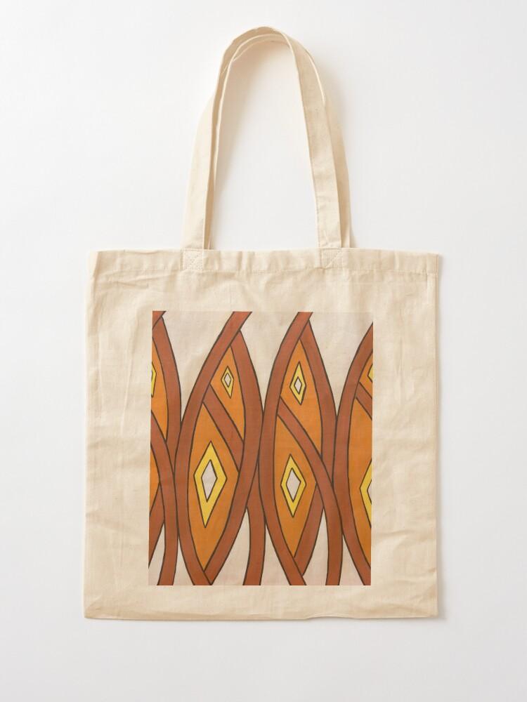 Alternate view of Crocodile Totem Design Tote Bag