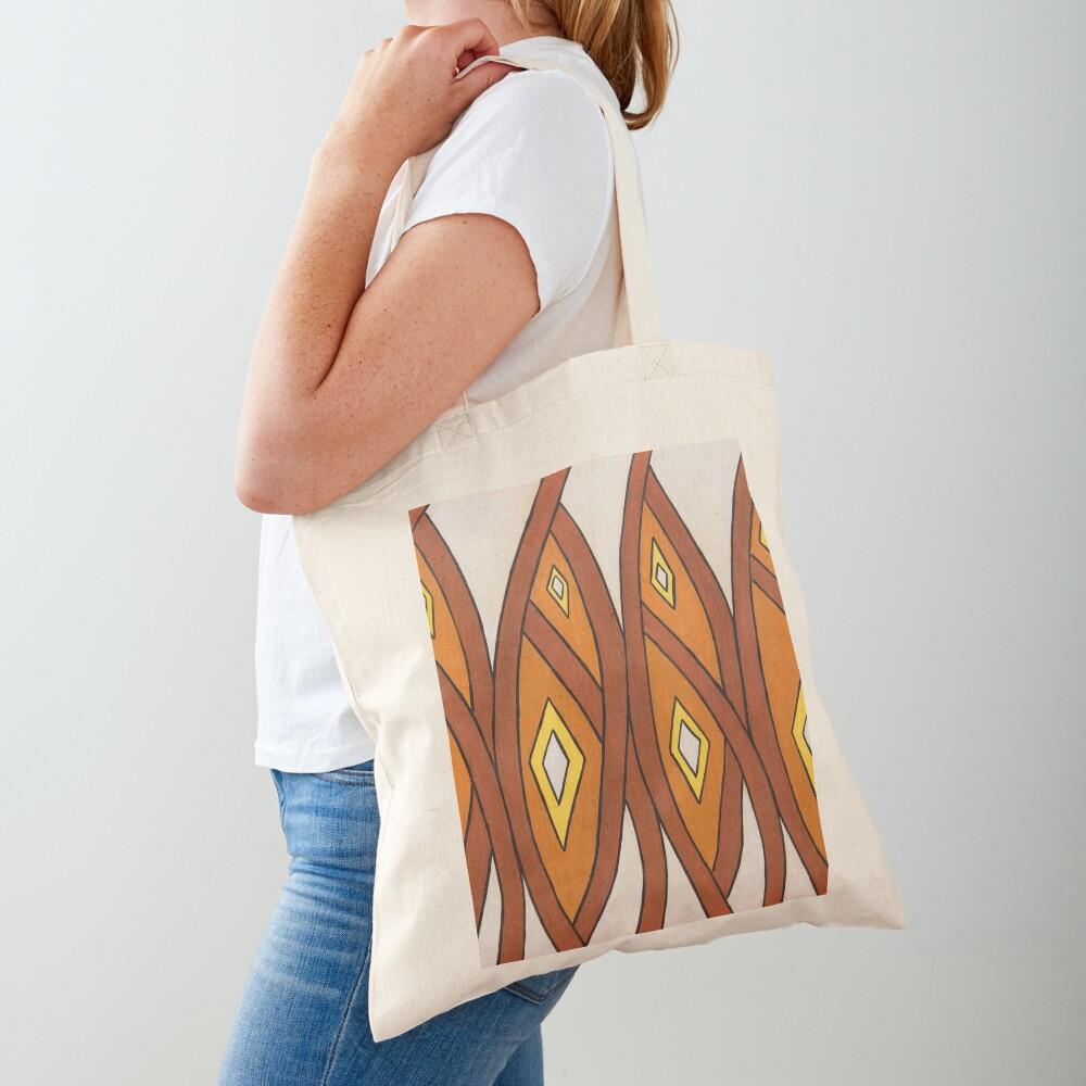 Crocodile Totem Design Tote Bag