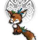 Celtic Spirit Fox by Leah McNeir