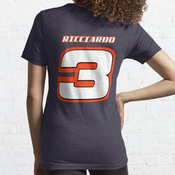 Damiel RICCIARDO _ Numéro 3_2014 T-shirt essentiel