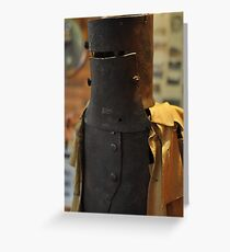 Ned Kelly Armour - Glenrowan Visitors Centre / Museum Greeting Card