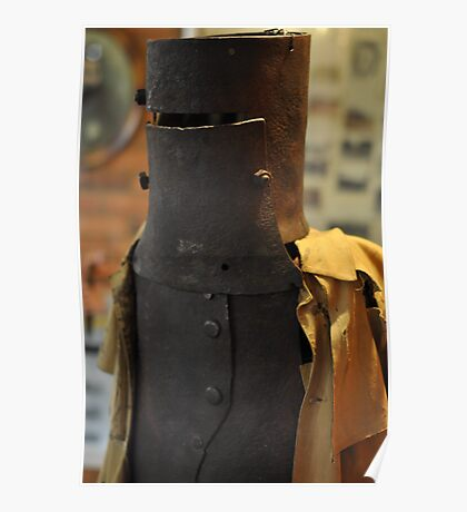 Ned Kelly Armour - Glenrowan Visitors Centre / Museum Poster