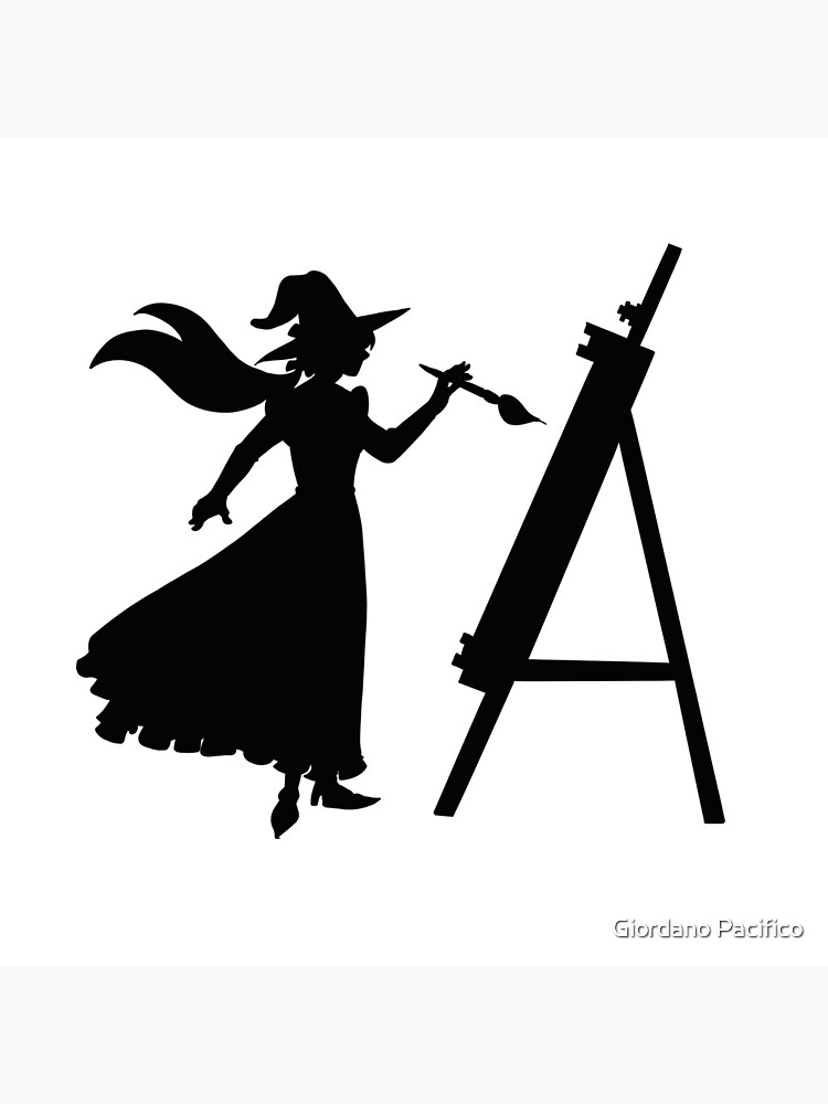 A witch's silhouette by giordanopac