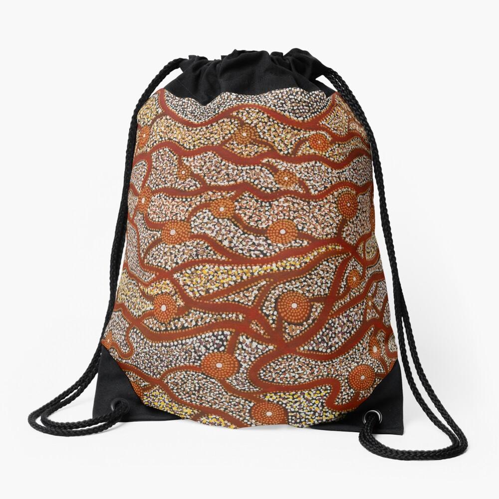 Majestic Mountains Drawstring Bag