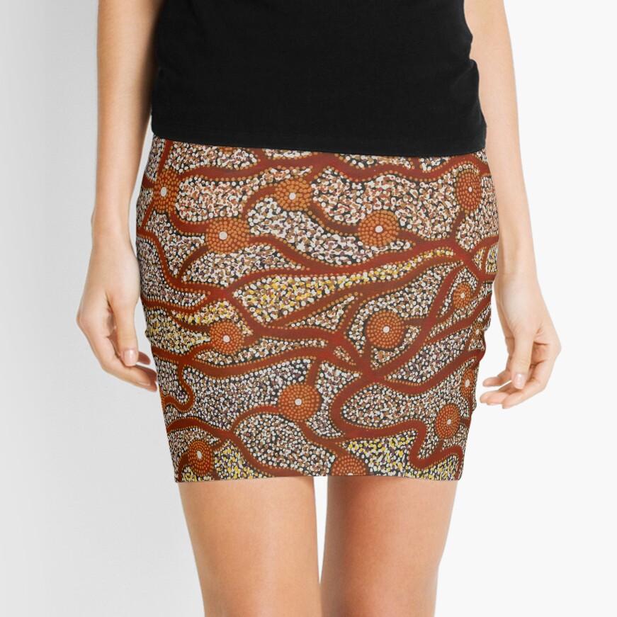 Majestic Mountains Mini Skirt