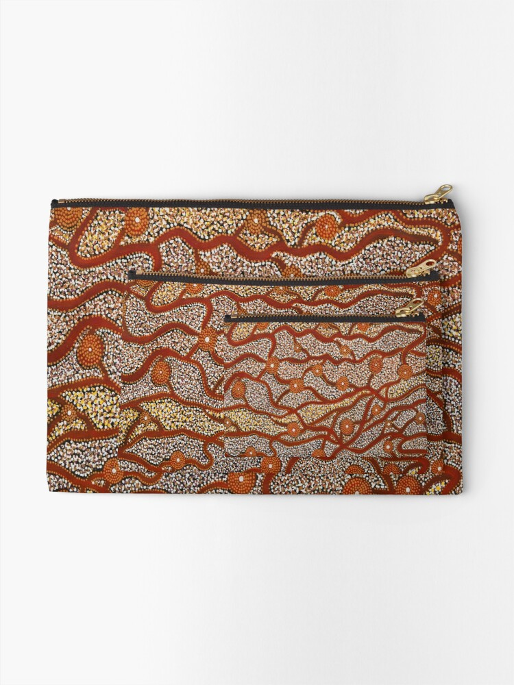 Alternate view of Majestic Mountains Zipper Pouch
