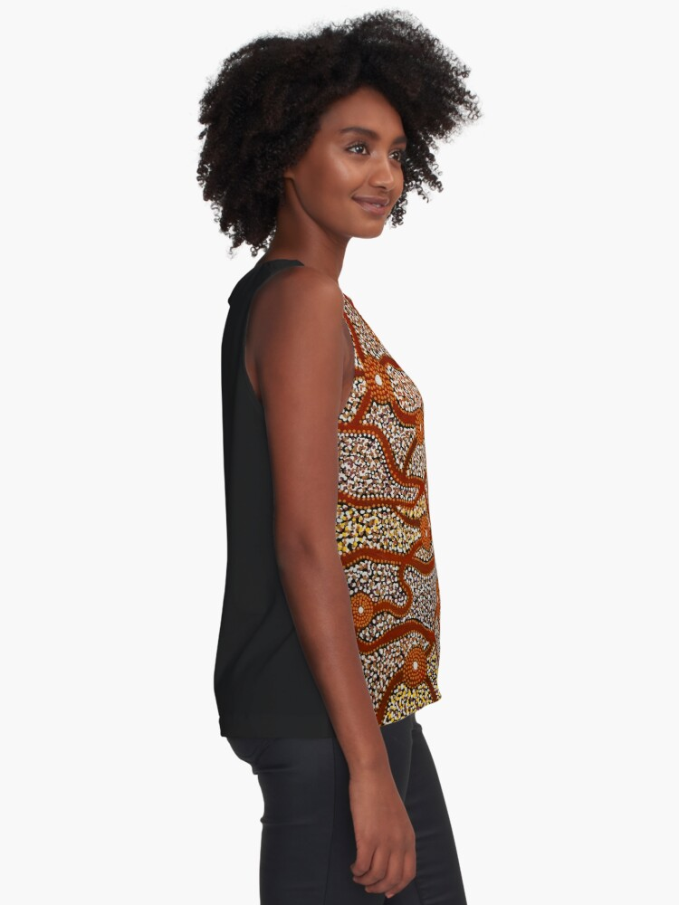 Alternate view of Majestic Mountains Sleeveless Top