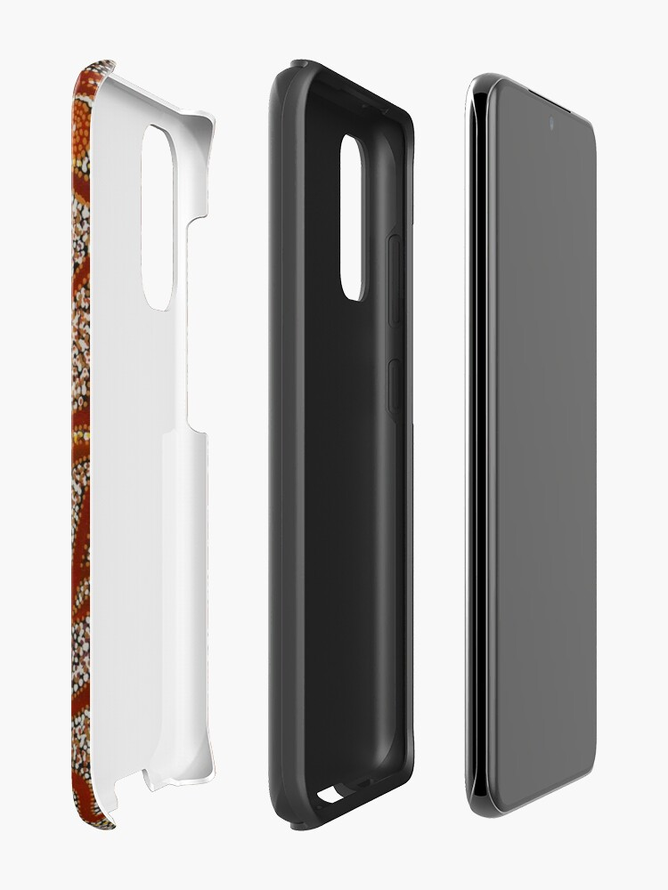 Alternate view of Majestic Mountains Case & Skin for Samsung Galaxy