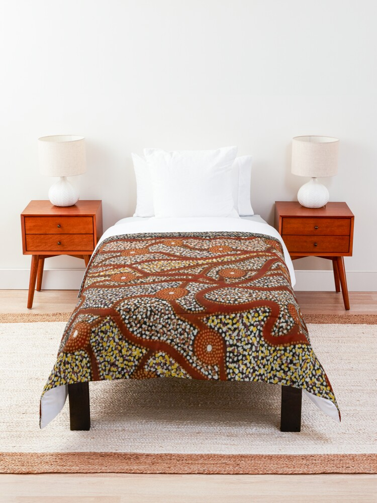 Alternate view of Majestic Mountains Comforter