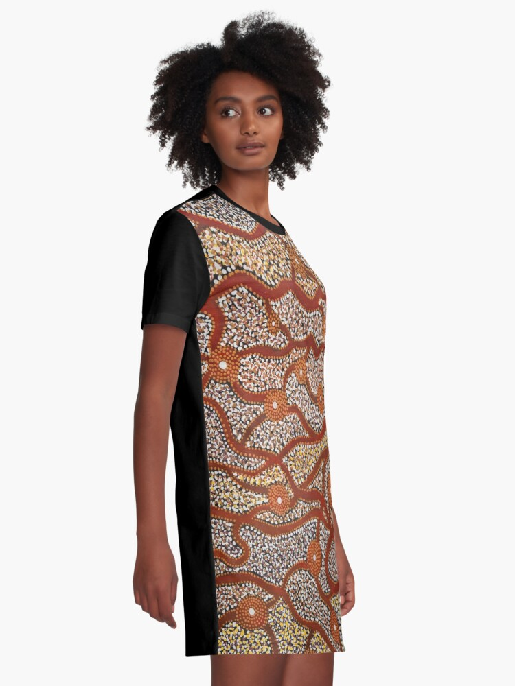 Alternate view of Majestic Mountains Graphic T-Shirt Dress
