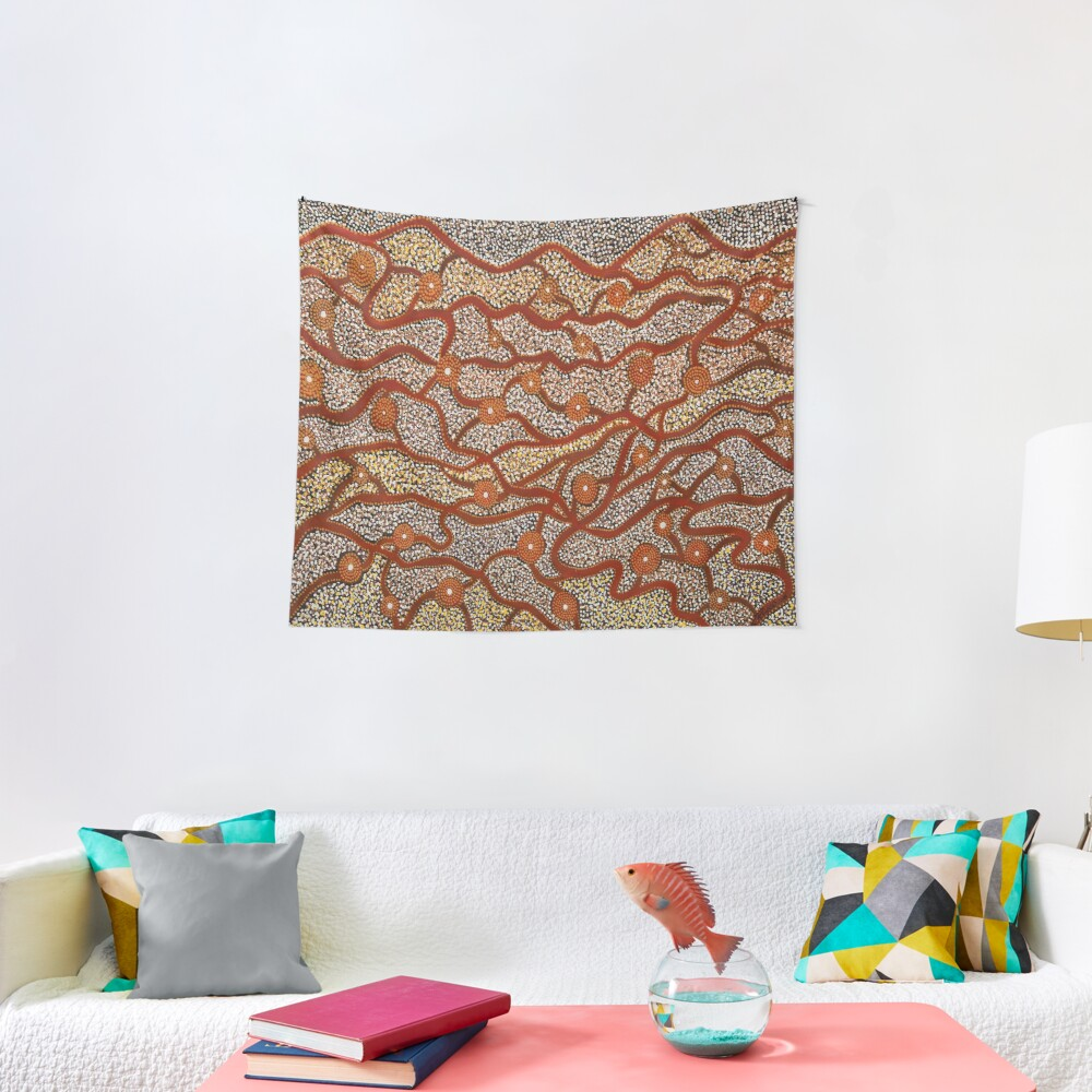 Majestic Mountains Tapestry