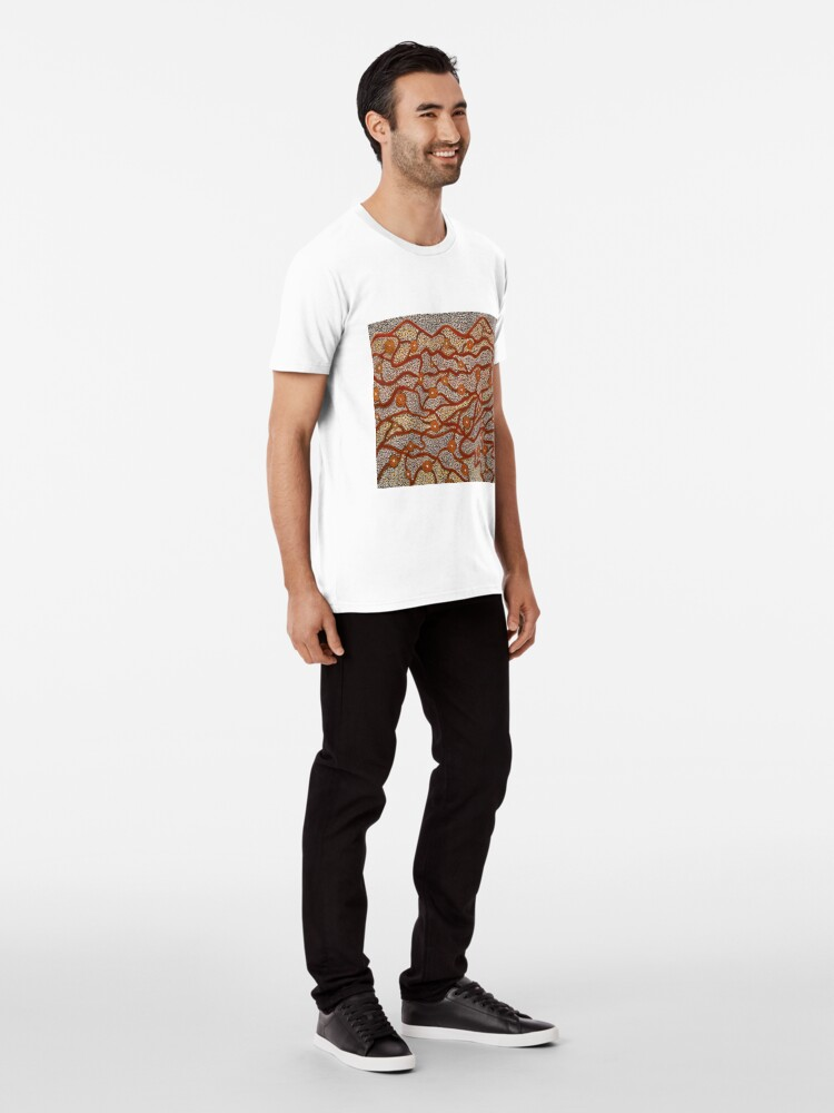 Alternate view of Majestic Mountains Premium T-Shirt
