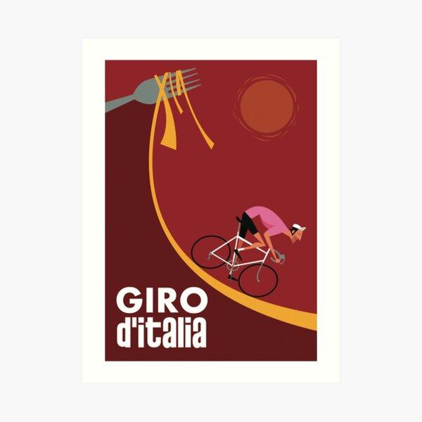 Affiche du Giro d'Italia Impression artistique