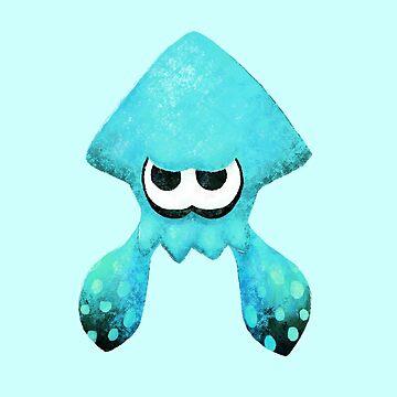 Squid - Teal by charliissocool
