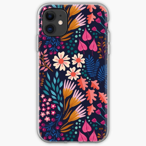 BLISS Flower Field iPhone Soft Case
