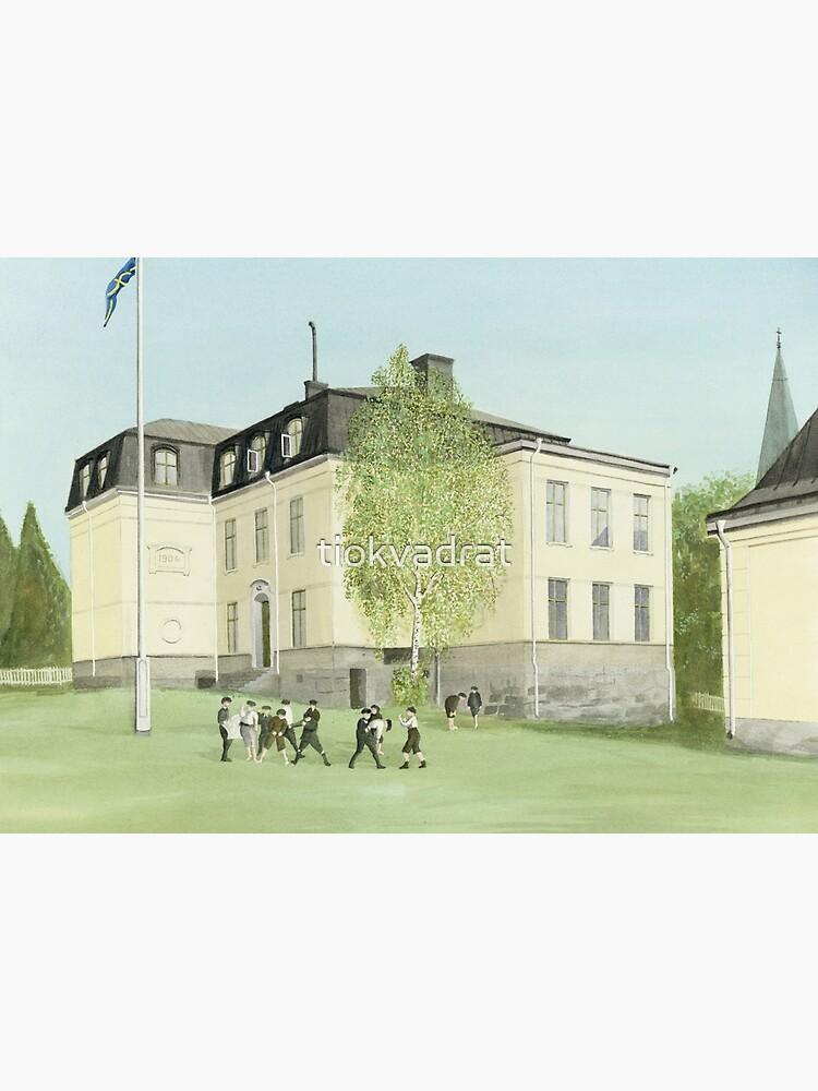 Duvbo School, Sundbyberg, Sweden by tiokvadrat