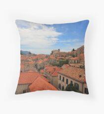 Dubrovnik Skyline Throw Pillow