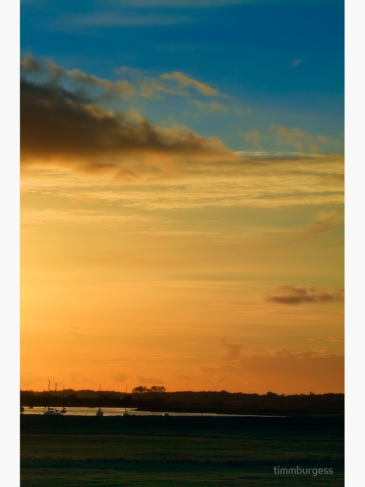 Aldeburgh sunset by timmburgess
