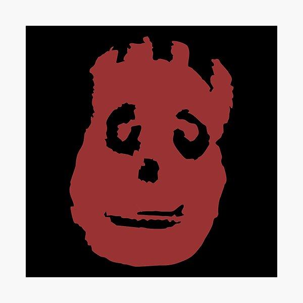 Cast Away Wilson Logo Photographic Print