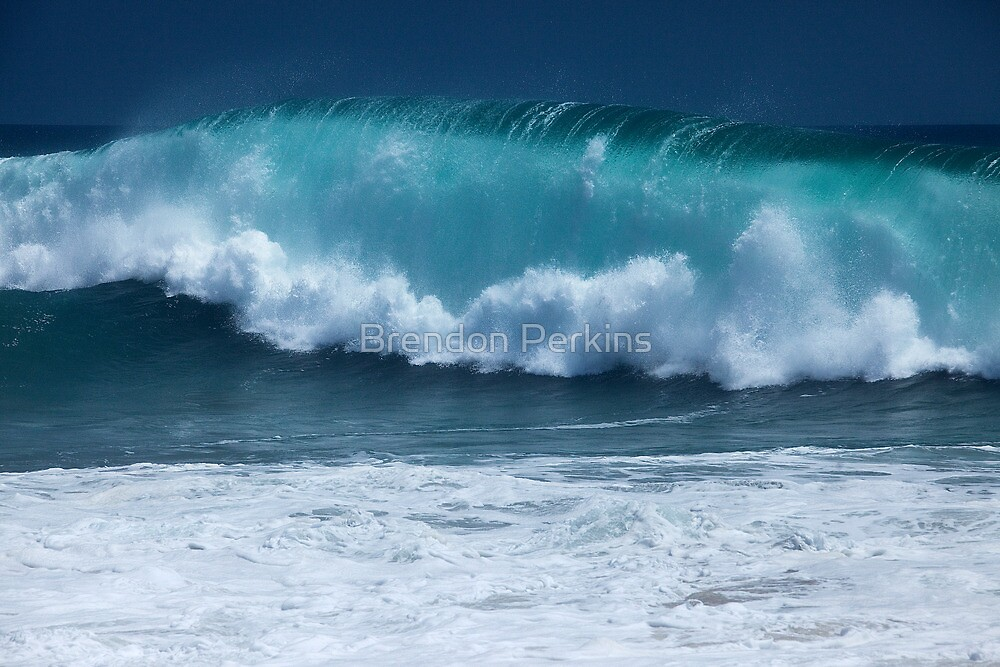 Pacific Wave (The Wedge, Newport Beach, California) by Brendon Perkins