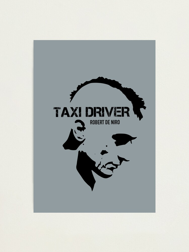 Alternate view of Taxi Driver - Alternative Movie Poster Photographic Print