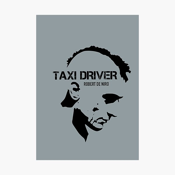 Taxi Driver - Alternative Movie Poster Photographic Print