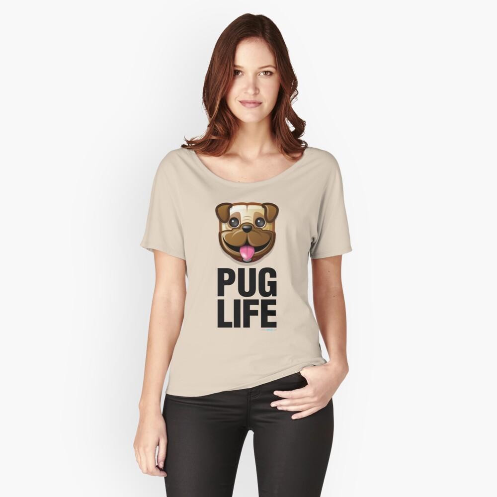 Pug Life Relaxed Fit T-Shirt