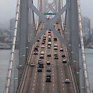 Oakland Bridge Traffic (San Francisco, California) by Brendon Perkins