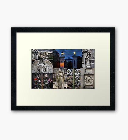 Recoleta cemetry Framed Print