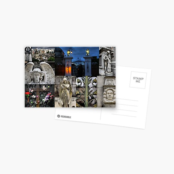 Recoleta cemetry Postcard