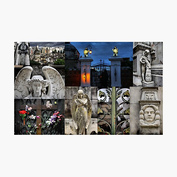 Recoleta cemetry Photographic Print
