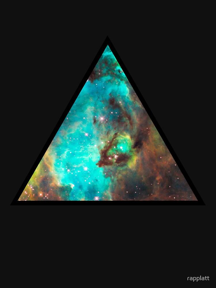 Green Galaxy Triangle | Women's T-Shirt