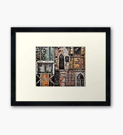 Textures of Recoleta Framed Print