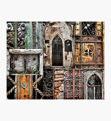 Textures of Recoleta Photographic Print