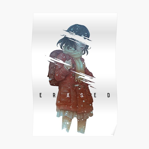 Erased girl Poster