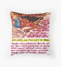 Pregnancy: Don't be a Drag! Pack your Bag! Throw Pillow