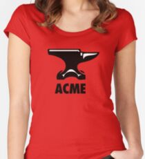 Acme Anvil Women's Fitted Scoop T-Shirt