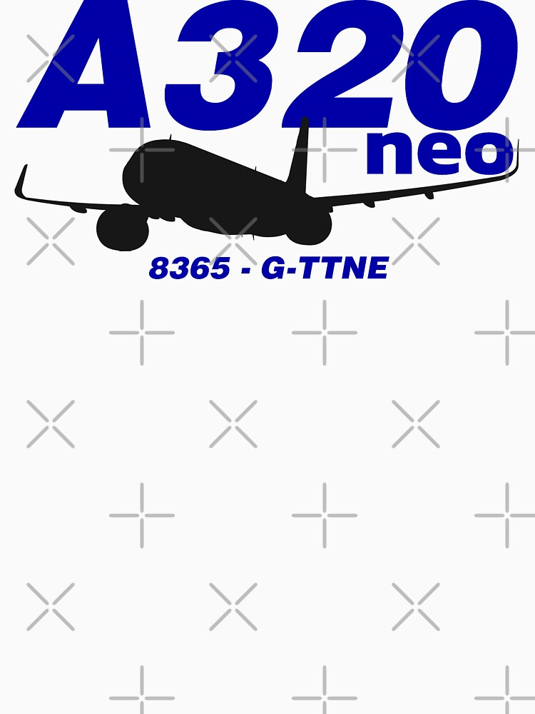 A320neo 8365 G-TTNE (Black Print) by AvGeekCentral