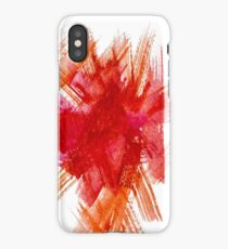 Colorful Watercolor Stroke iPhone Case