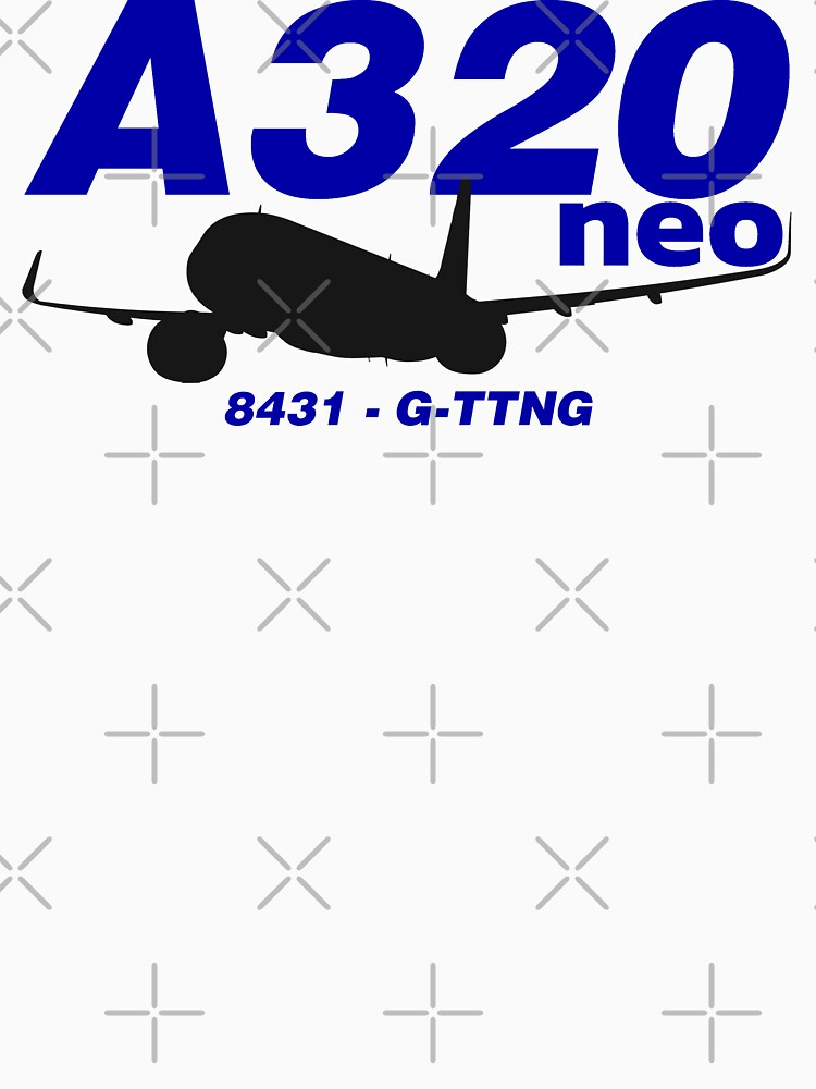 A320neo 8431 G-TTNG (Black Print) by AvGeekCentral