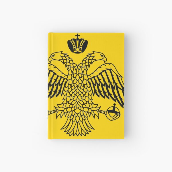 Byzantine Imperial flag by the Greek Orthodox Churches Hardcover Journal