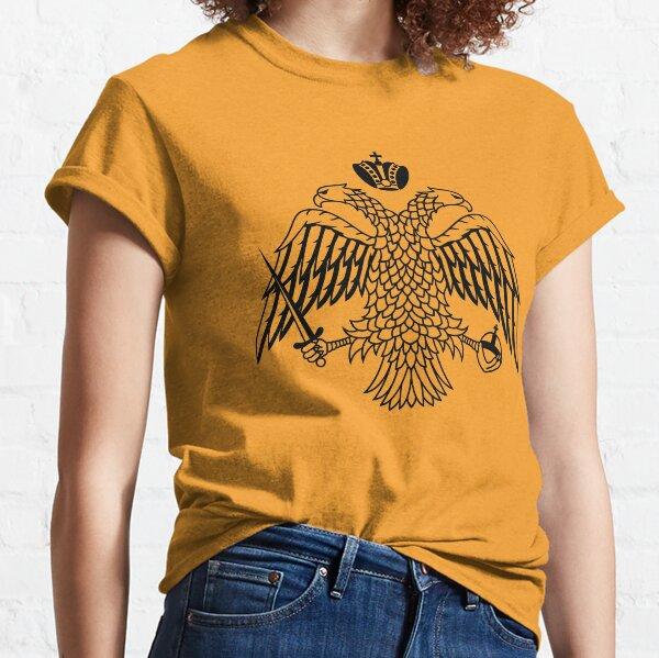 Byzantine Imperial flag by the Greek Orthodox Churches Classic T-Shirt