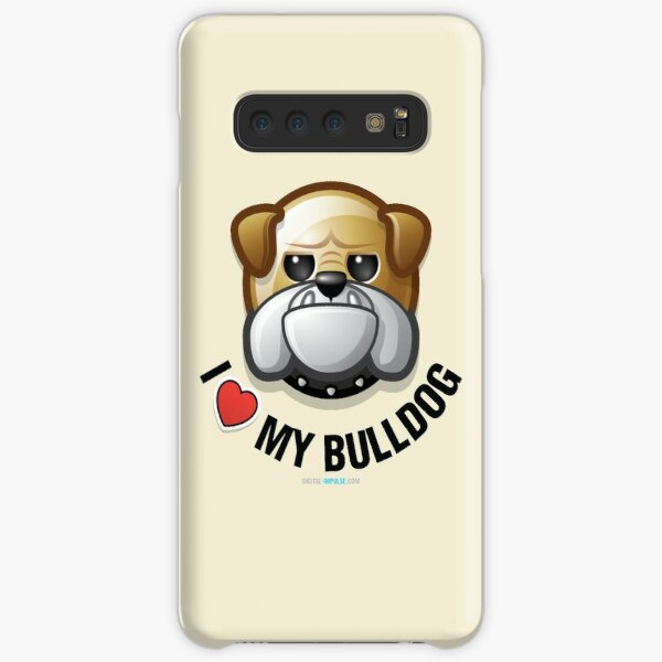 I Love My Bulldog Samsung Galaxy Snap Case