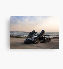 Siniser McLaren P1: Wings Up Canvas Print