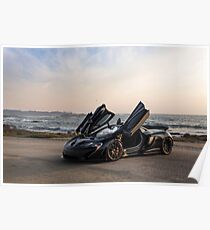 Siniser McLaren P1: Wings Up Poster