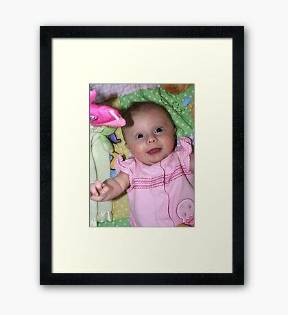 Happy To See Ya!! Framed Print