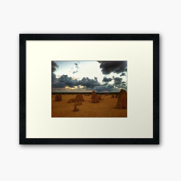The Pinnacles Framed Art Print