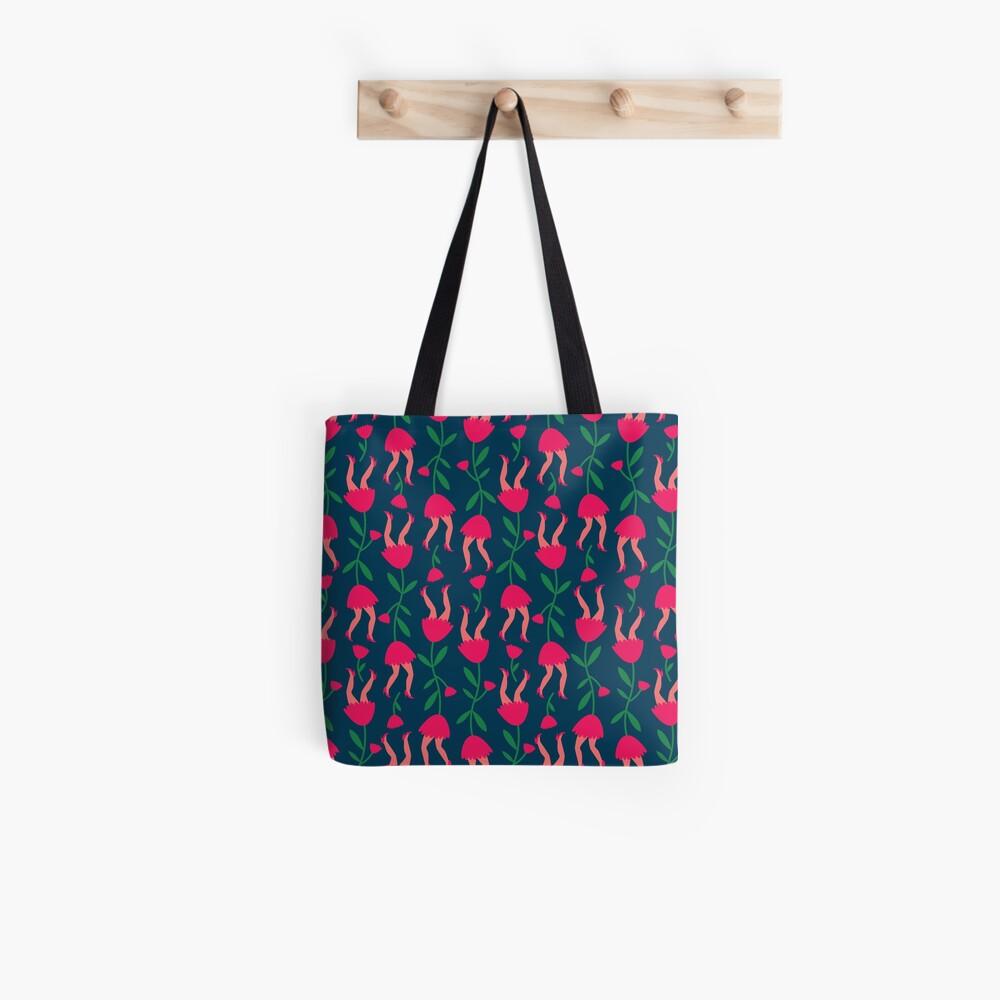 Tulip pattern Tote Bag